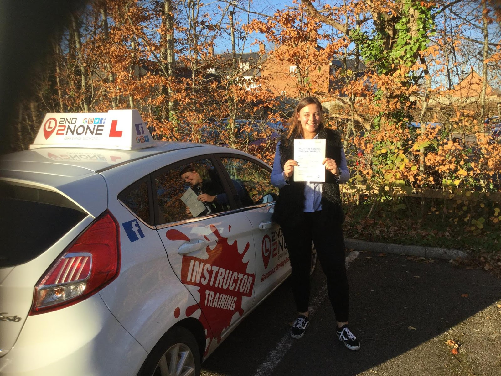 Zero Minor faults for latest driving test pass in Street Somerset