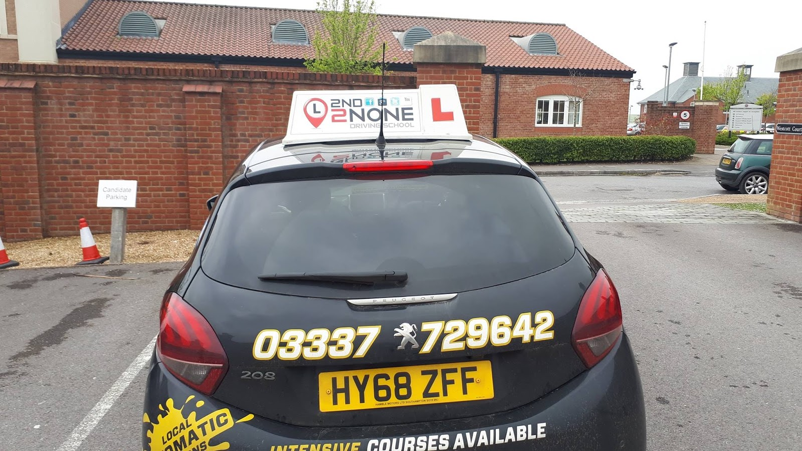 Automatic Driving Lessons Westbury
