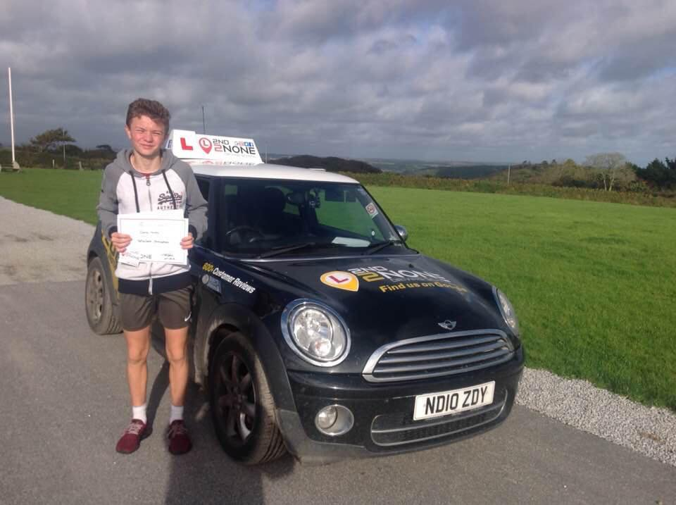 Under 1's Driving Lessons Stithians Cornwall
