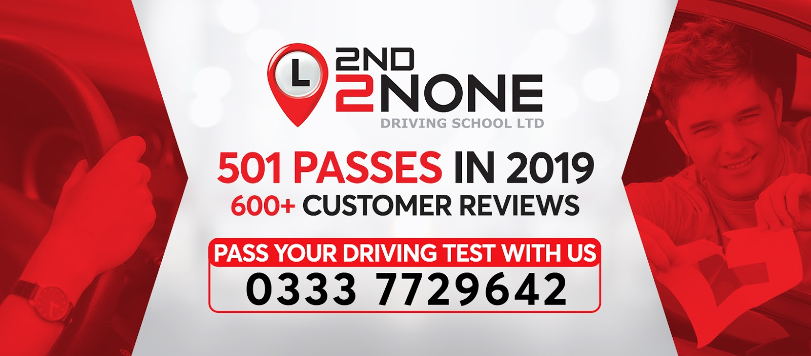 501 Driving Test Passes in 2019