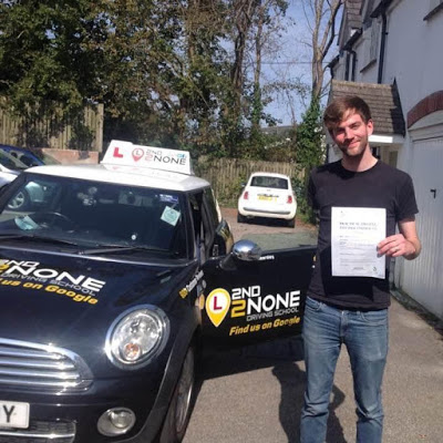 Another driving test pass in Falmouth