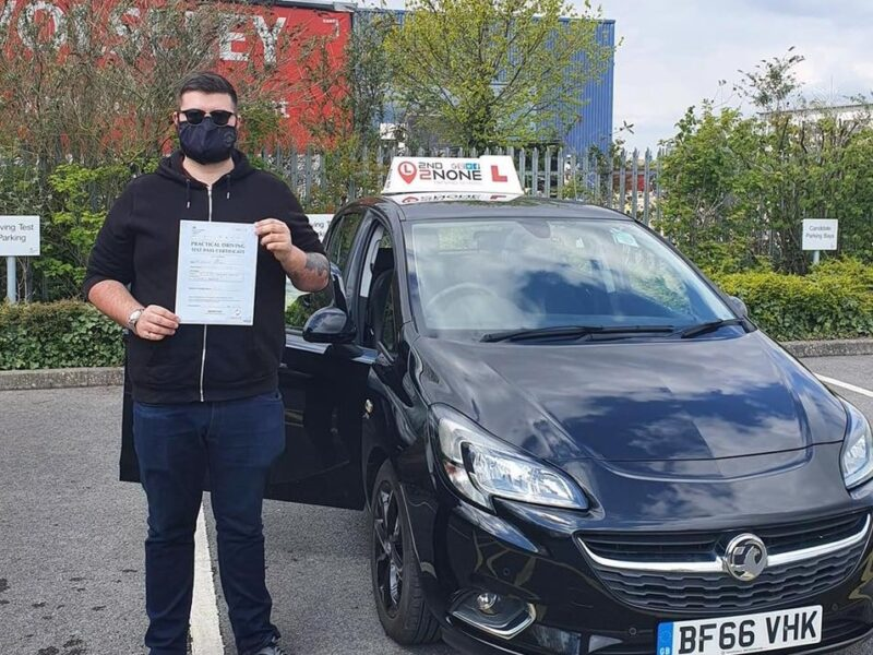 Another Successful Driving Test for Bristol