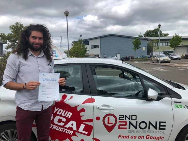 Another Successful Driving Test Pass in Exeter