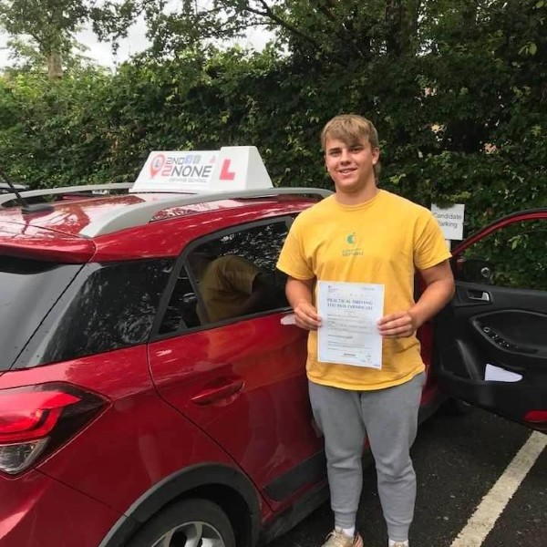 ZERO fault driving test result