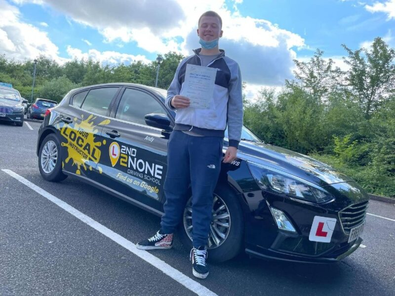 ZERO Fault Driving Test Result – Another successful result for our local driving instructor Andy Dunn from Bristol