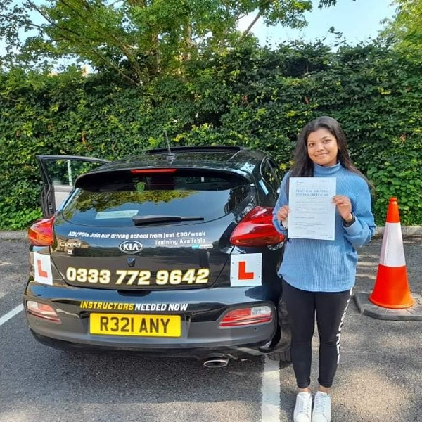 Success for driving lessons in Shaftesbury