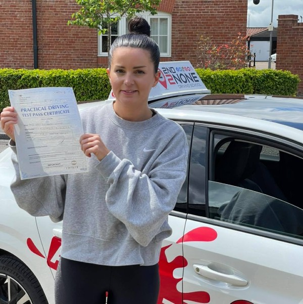 A 1st time pass for Automatic Driving Lessons in Stalbridge