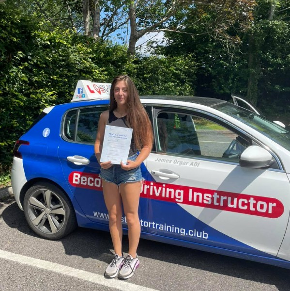 Another driving test pass or the team in Shaftesbury