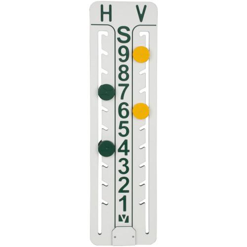 LoveOne Tennis Scoreboard Yellow and Green