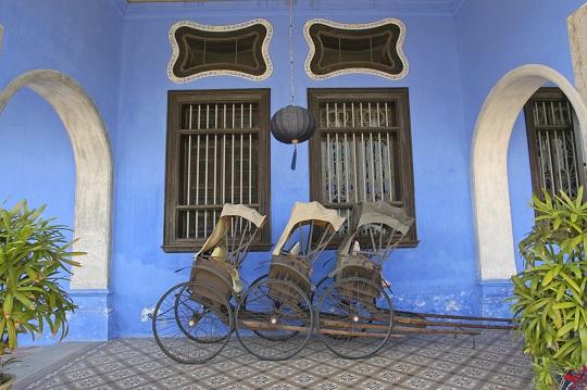 Rickshaws in Penang