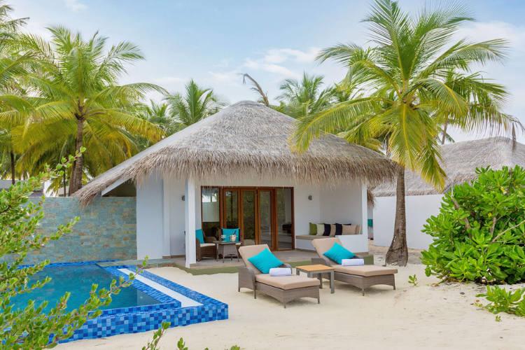 Beach pool villa at Cocoon Maldives
