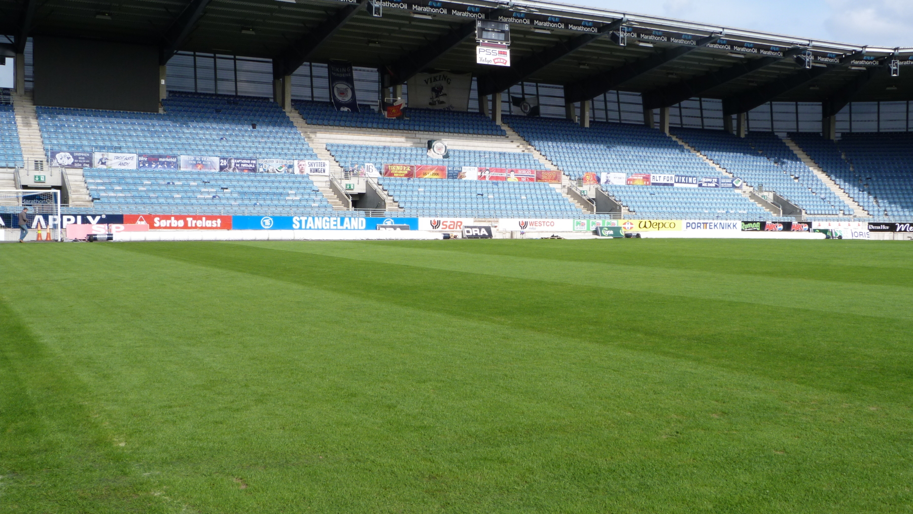 FK Viking pitch Ready for match day - Matchsaver