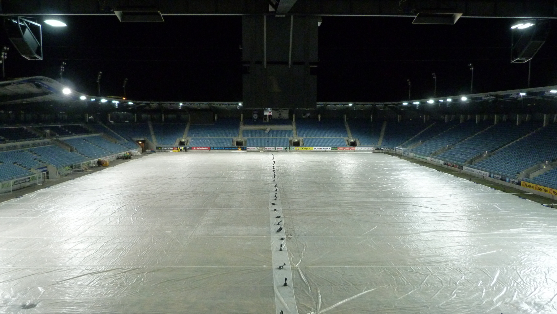 FK Viking Stadium - Covered by Matchsavers Automated System