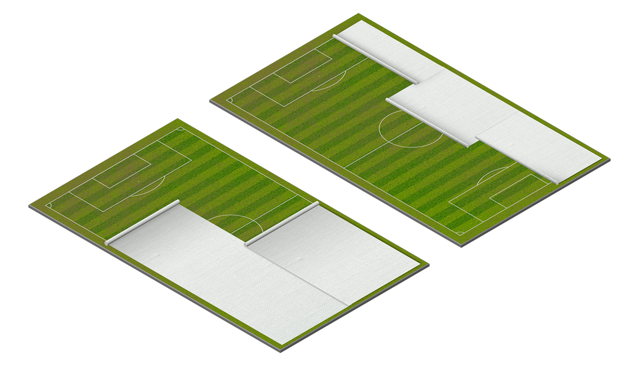 Matchsaver Automated Pitch Protection Pitch Configuration