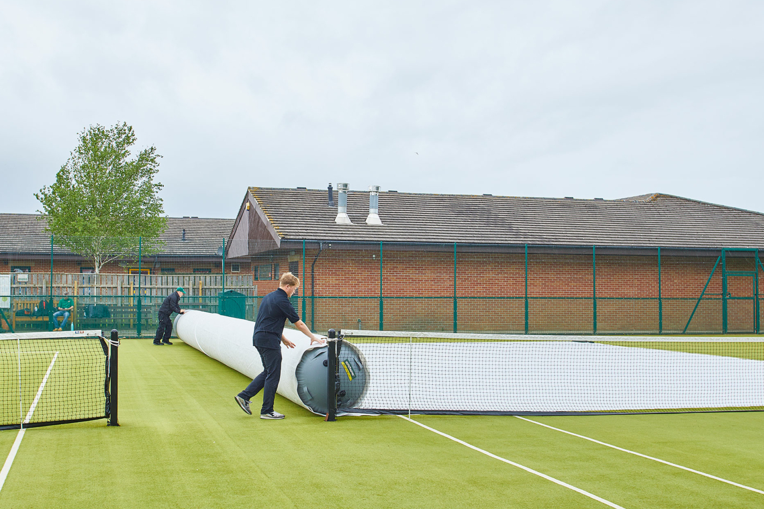 Matchsaver Air Roller Covers - Court Protection