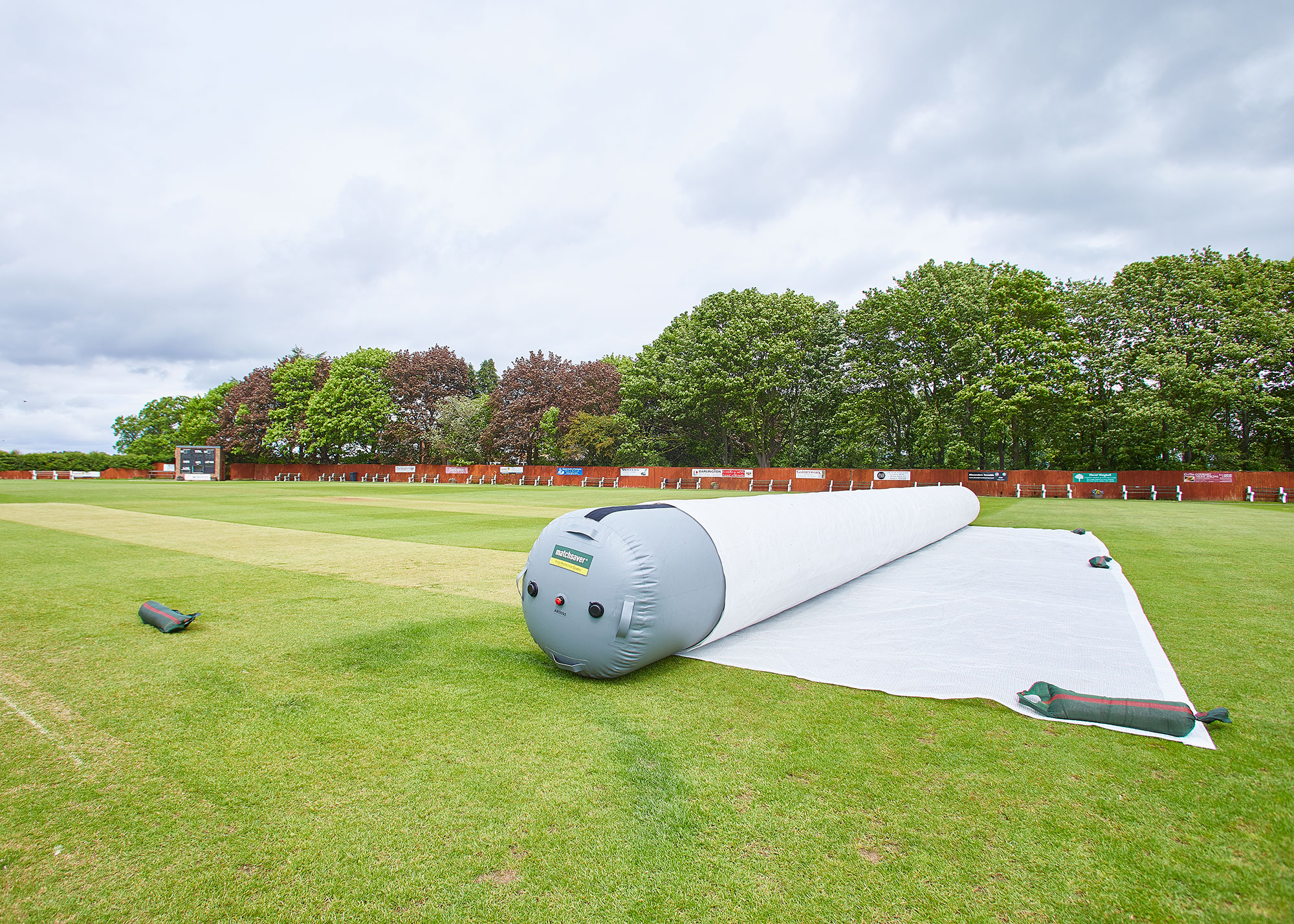 Matchsaver air roller cricket covers