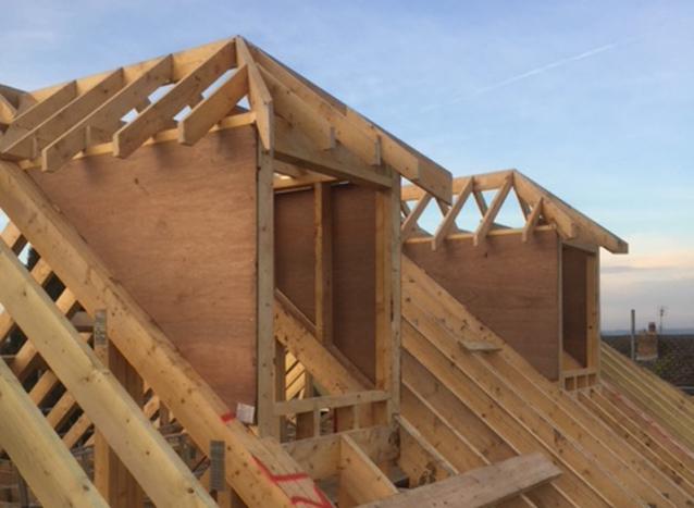 Bespoke Wood Roofing