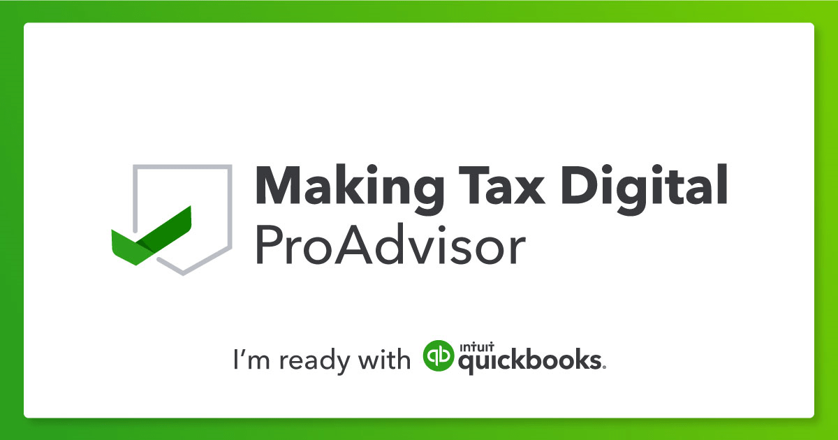 QuickBooks MTD PrpAdvisor Badge