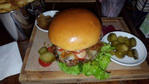 Xmas Eve burgers..