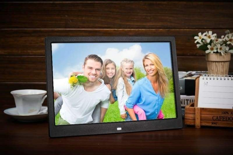 15-Inch Digital Photo Frame - Black / EU Plug - Digital Photo Frames