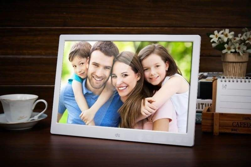 15-Inch Digital Photo Frame - White / EU Plug - Digital Photo Frames