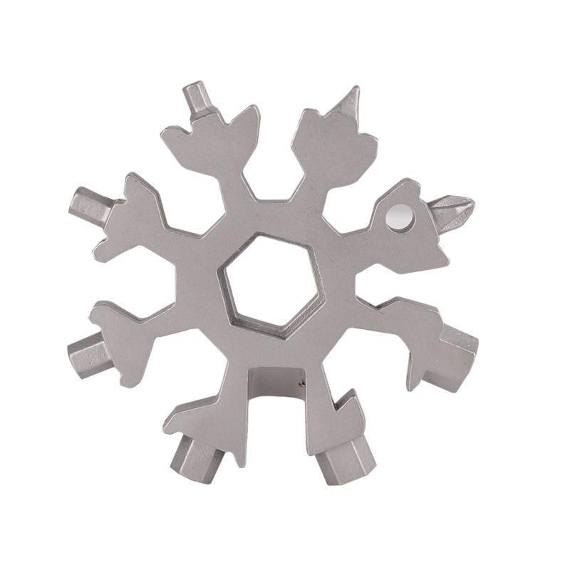 18-in-1 Snowflake Multi-Tool - Outdoor Tools