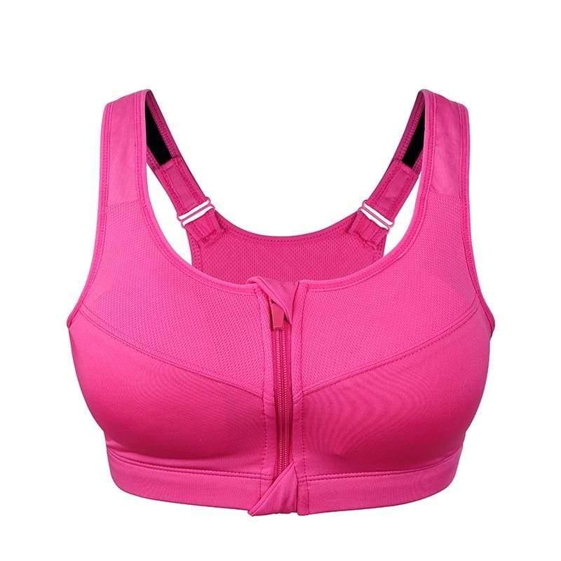 2XL-5XL Fitness Plus Size Sports Bras - Sports Bras