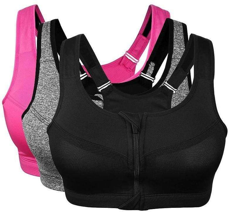 2XL-5XL Fitness Plus Size Sports Bras - Sports Bras