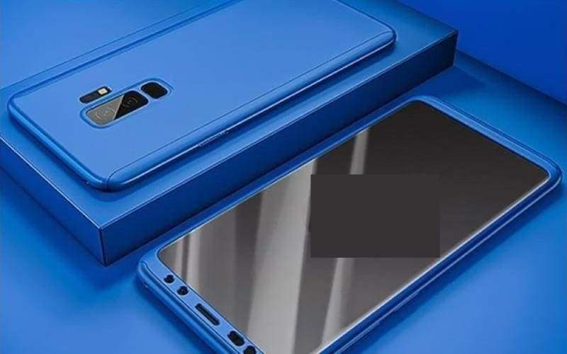 360 Degree Full Cover Luxury Phone Case For Samsung Galaxy - Galaxy S10 Plus / Blue - Fitted Cases