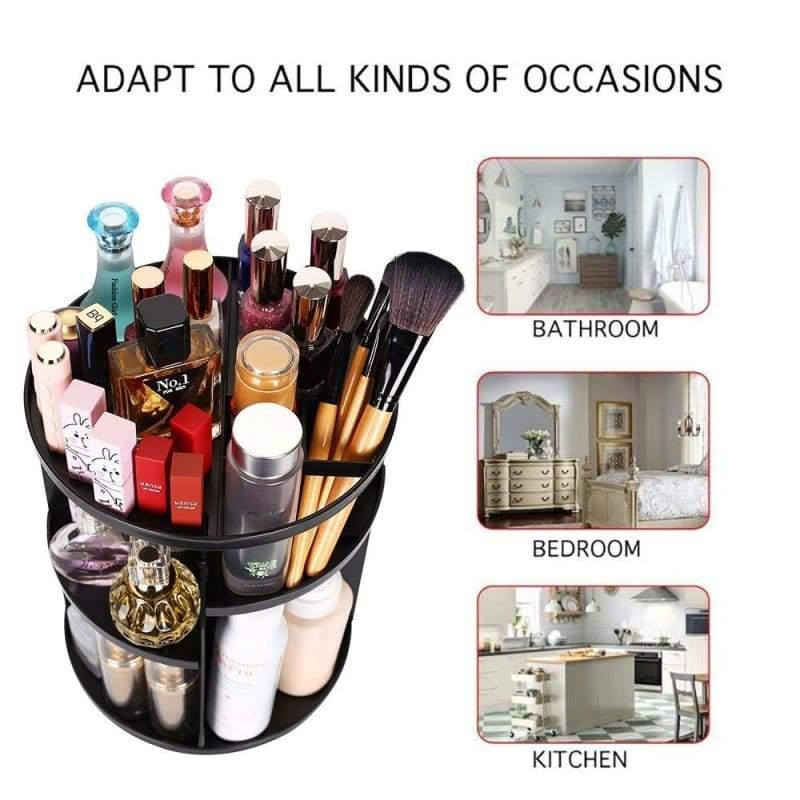 360 Degree Makeup Organizer - Furniture Accessories