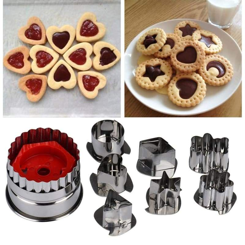 3D Cookie Cutter Just For You - Silver - Cookie Tools