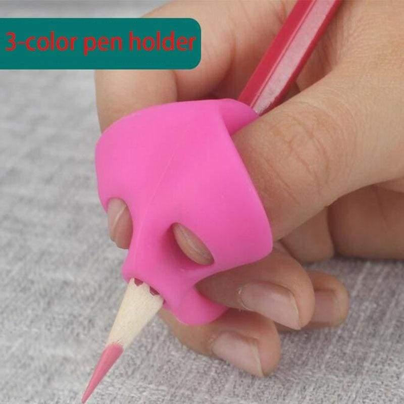 3 pc Magic Grip Ergonomic Training Pencil Holder - Stationery Set