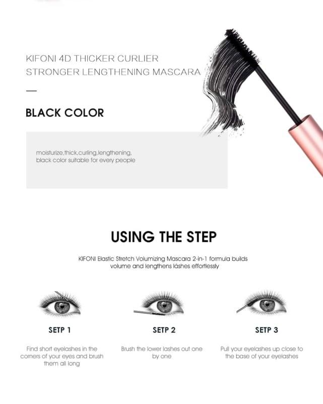4D Silk Fiber Lash Waterproof Mascara - Mascara