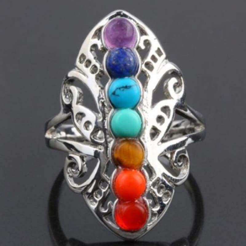 7 Chakras Healing Ring - Rings