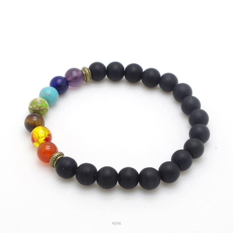 7 Chakra Stone Healing - 11 - Charm Bracelets