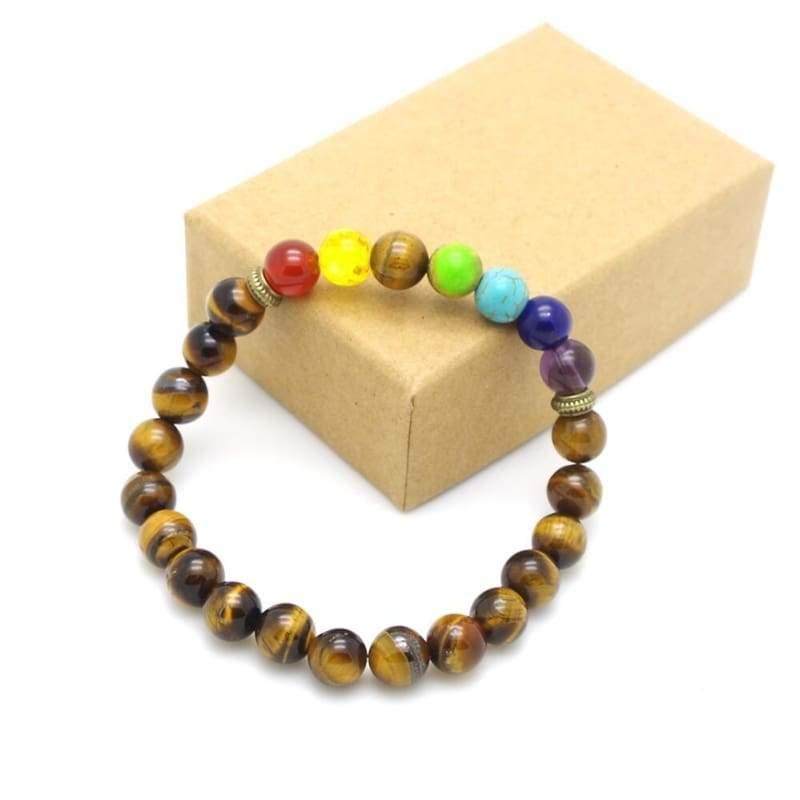 7 Chakra Stone Healing - 12 - Charm Bracelets