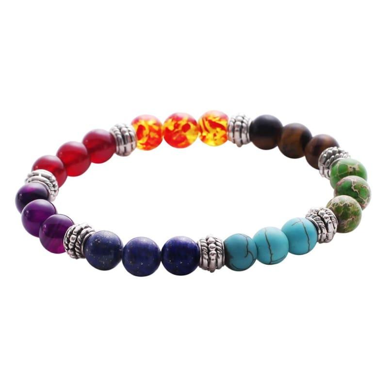 7 Chakra Stone Healing - 1 - Charm Bracelets