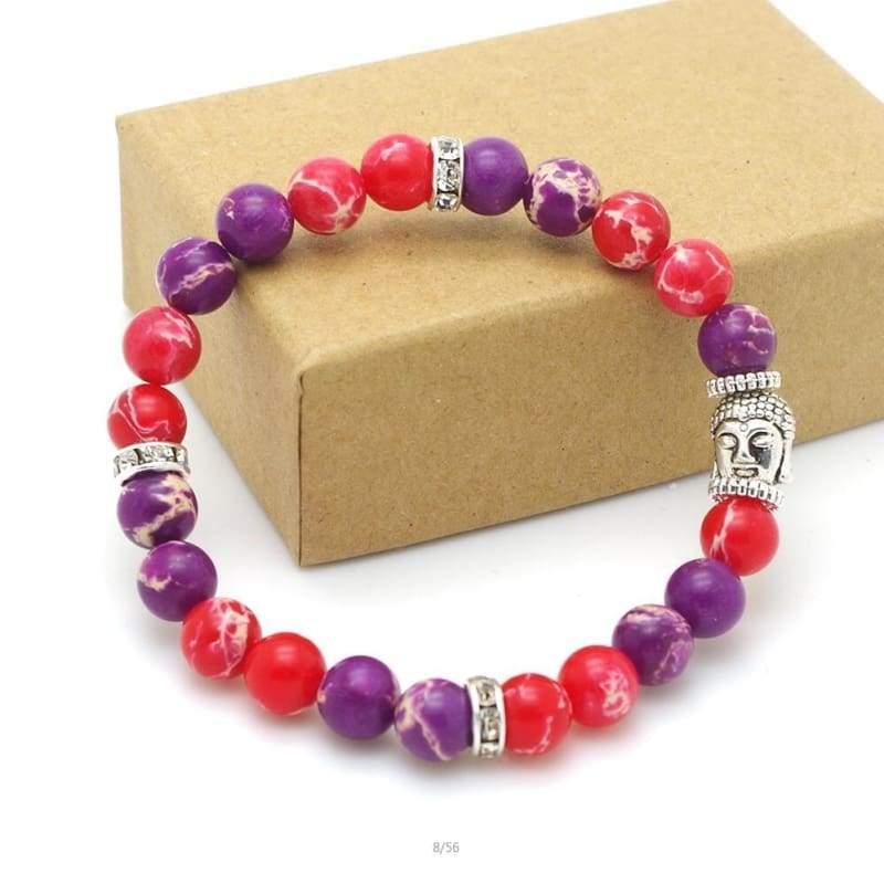 7 Chakra Stone Healing - 25 - Charm Bracelets