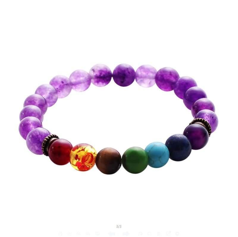 7 Chakra Stone Healing - 2 - Charm Bracelets
