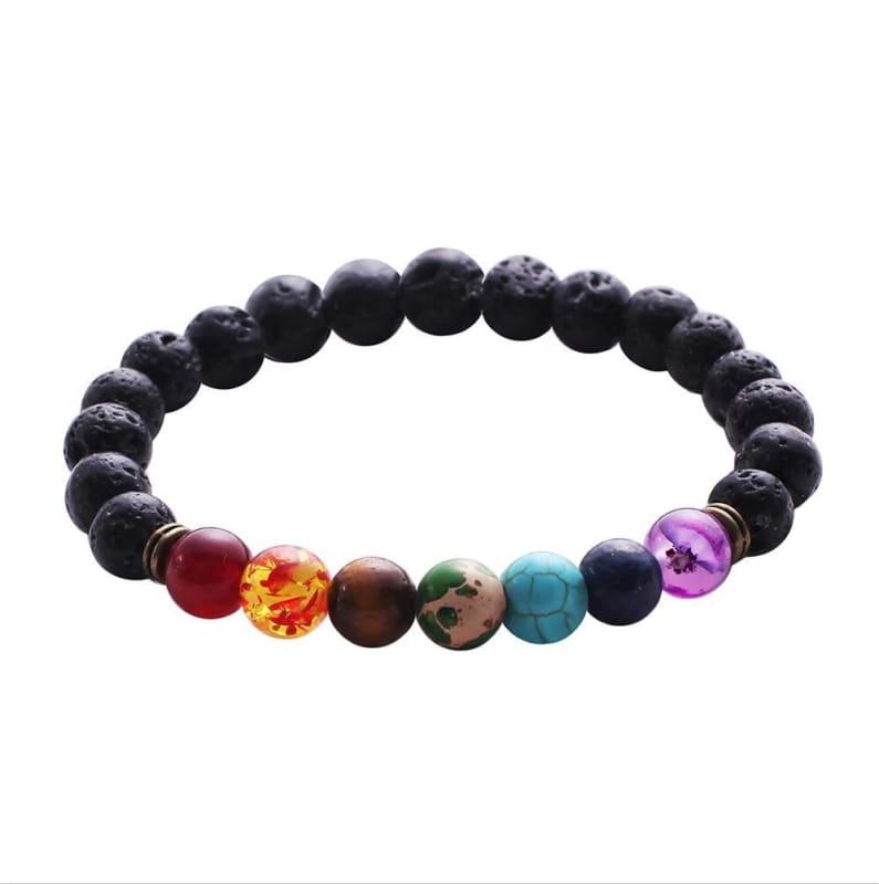7 Chakra Stone Healing - 3 - Charm Bracelets