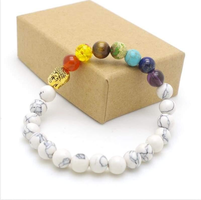 7 Chakra Stone Healing - 9 - Charm Bracelets