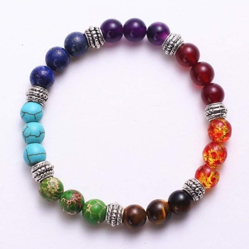 7 Chakra Stone Healing - Charm Bracelets