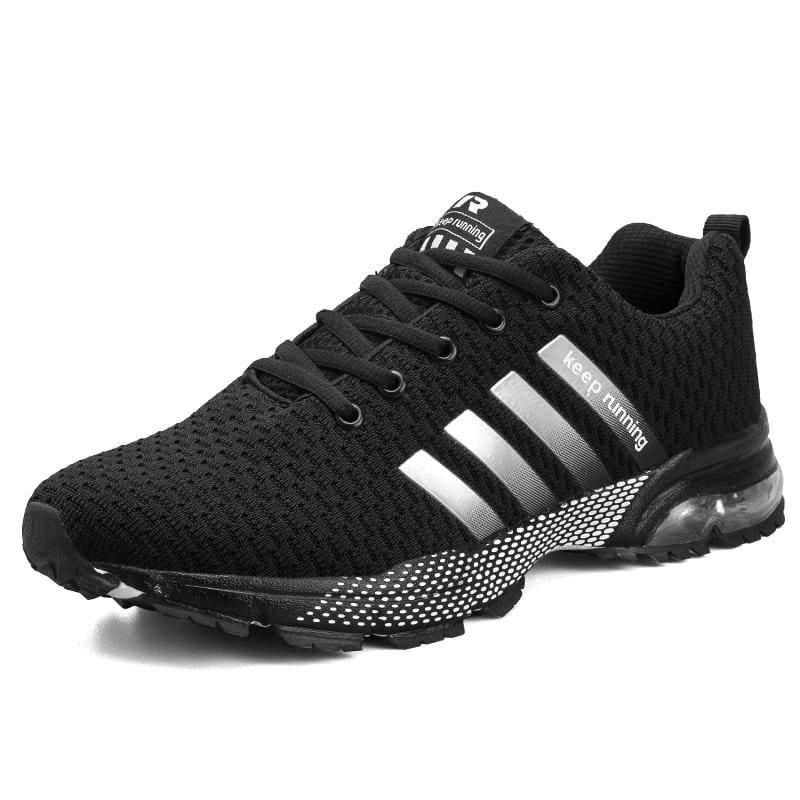 Air Cushion Sneakers - 8877Black / 11 - Mens Casual Shoes