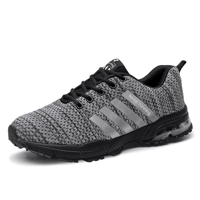 Air Cushion Sneakers - 8877Gray / 10.5 - Mens Casual Shoes