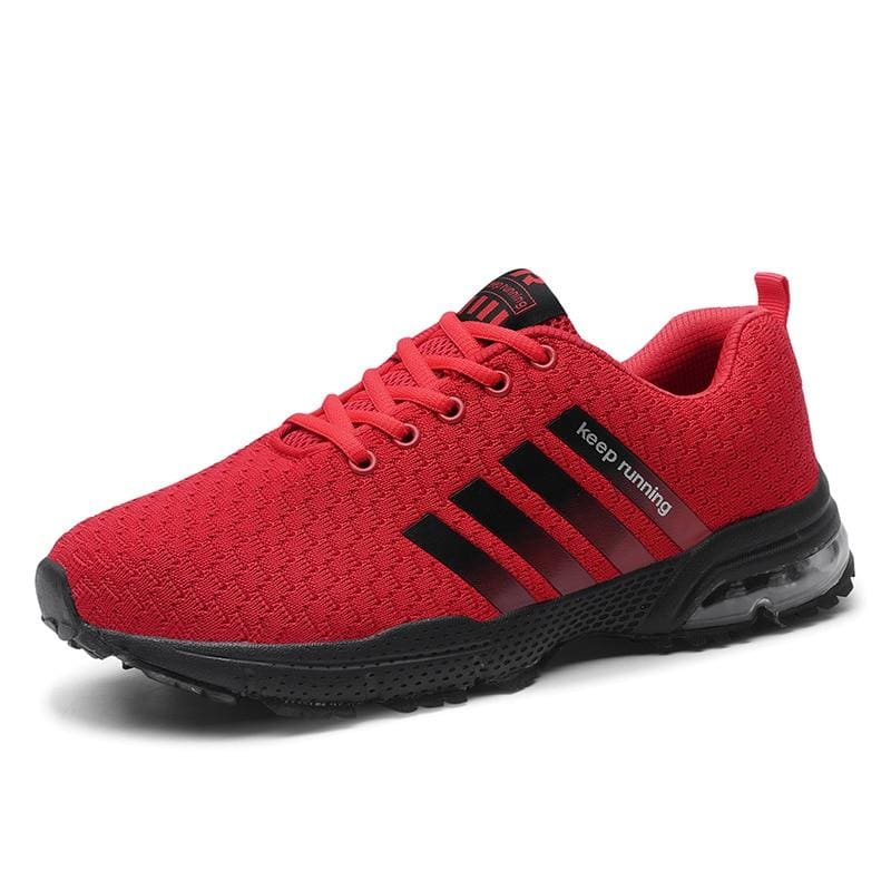 Air Cushion Sneakers - 8877Red / 11 - Mens Casual Shoes