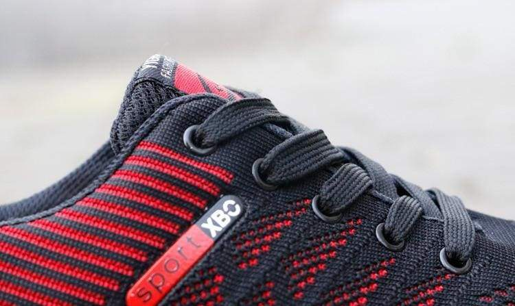 Air Mesh Breathable Sneakers - Mens Vulcanize Shoes