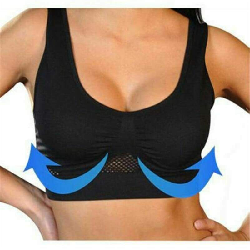 Air Permeable Cooling Bra - Sports Bras
