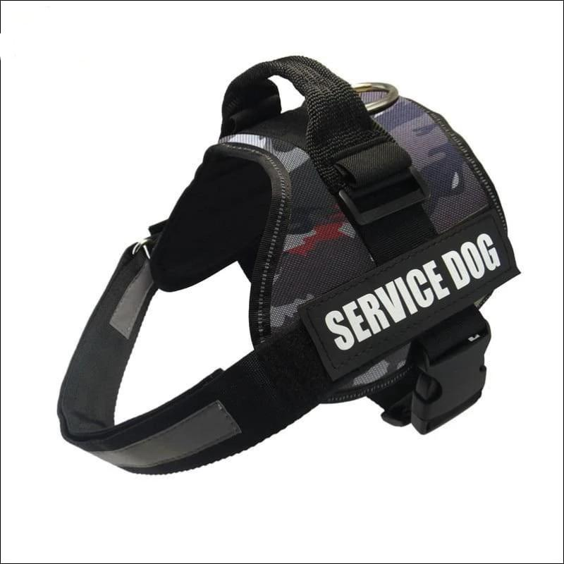 All-In-One No Pull Dog Harness - camou 01 / L - Harnesses