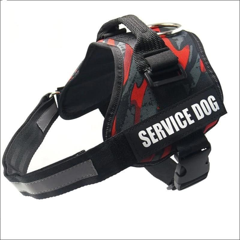 All-In-One No Pull Dog Harness - camou 02 / L - Harnesses