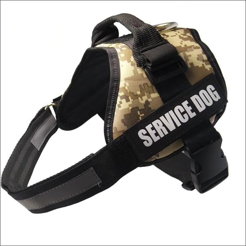 All-In-One No Pull Dog Harness - camouflage / L - Harnesses